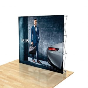 Pop-up Backdrop Display without Sides