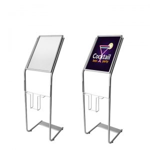 """Sign Holder Stand with Image Size: 10 1/2""""W x 16 1/2""""H"""