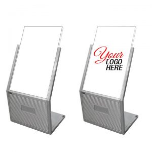 """Sign Holder Stand with Image Size: 21 1/2""""W x 32 1/2""""H"""