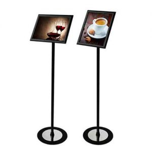 """Sign Holder Stand with Image Size: 11"""" x 17"""""""