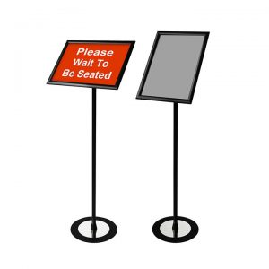 """Sign Holder Stand with Frame Size: 13""""x19"""" and Image Size: 11"""" x 17"""""""