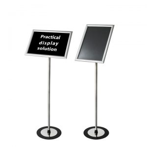 """Sign Holder Stand with Frame size: 13"""" x 19 and Image Size: 11"""" x 17"""""""