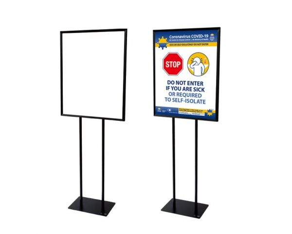 """Bulletin Sign Holder with Frame: 22""""W x 28""""H"""