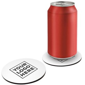 Full Color Round Cork Drink Coaster