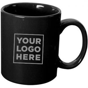 11 oz Black Coloured Coffee Mug