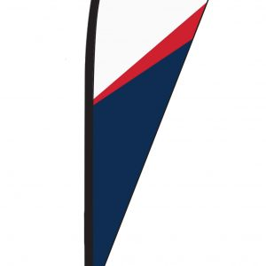TearDrop Single Sided Flags with hardware and carry bag.