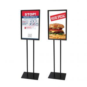 2 sample of Floor Stands