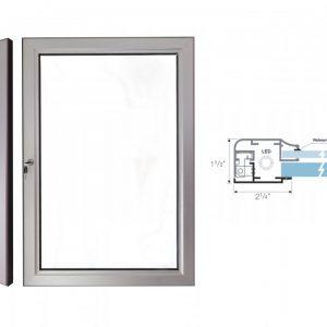 Locking Door Lightbox