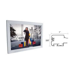 "Slim Lightbox with Frame size 10""W x 13-1/2""H x 5/8""D"
