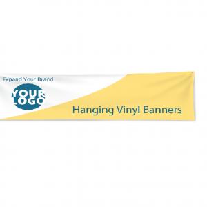 Indoor/Outdoor vinyl hanging banner